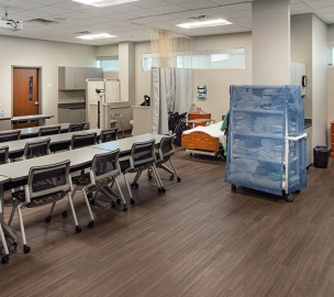 Healthcare Classroom | Chattahoochee Technical College Health Science Building
