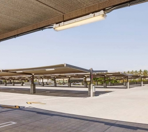 County of Riverside Parking Structure