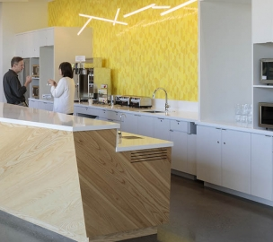 Kitchen at OHSU's Knight Cancer Research Institute