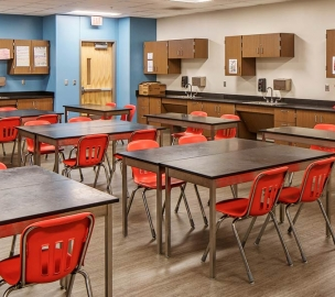 Norris Middle School Science Classroom