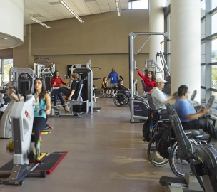 Rancho Los Amigos National Rehabilitation Center Exercise Equipment
