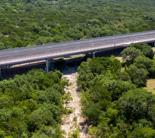 State Highway 45 Southwest Above Sensitive Environment