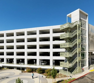 UC Davis Parking Structure