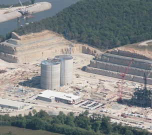 Holcim Cement Plant Aerial view