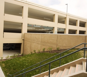 Soka University Parking Structure