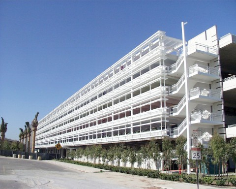 Disneyland Resort parking structure