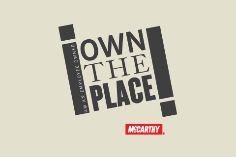 I own the place logo