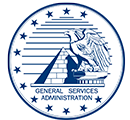 us general services admin logo